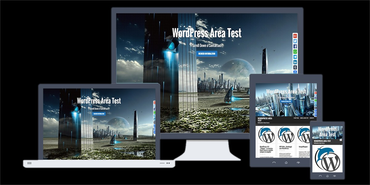 WordPress Area Test - Giorgio De Novellis